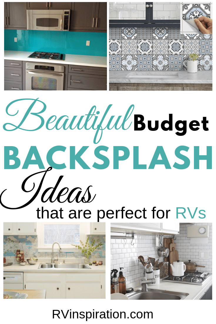 - 10 Beautiful (and Cheap!) DIY RV Backsplash Ideas RV Inspiration