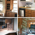 7 Ideas for Updating RVs With Wood Cabinets (Without Painting Them!)
