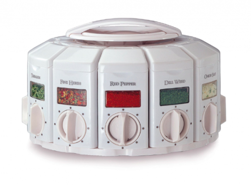 KitchenArt 25000 Select-A-Spice Auto-Measure Carousel - perfect for #RV #kitchen #spice #storage