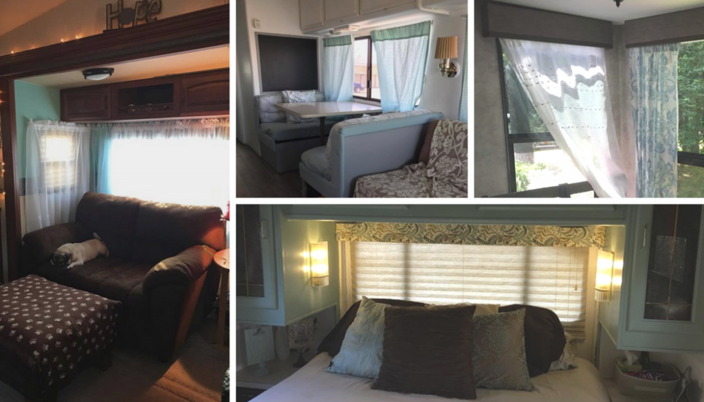 Rv Window Makeover Ideas With Pictures Rv Inspiration