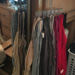 #RV #closet #storage and #organization idea | rvinspiration.com | ideas for a #camper, #traveltrailer, or #motorhome
