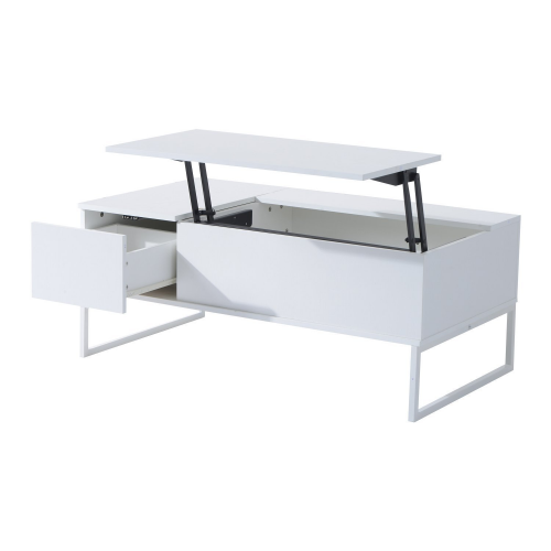 Lift coffee table with storage drawer for motorhomes, campers, and travel trailers | RV furniture