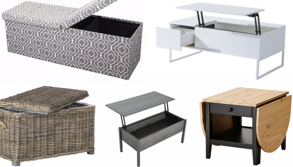 8 Coffee Tables that Add Storage Space | Furniture for RVs