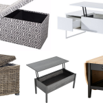 7 Coffee Tables that Add Storage Space | Furniture for RVs