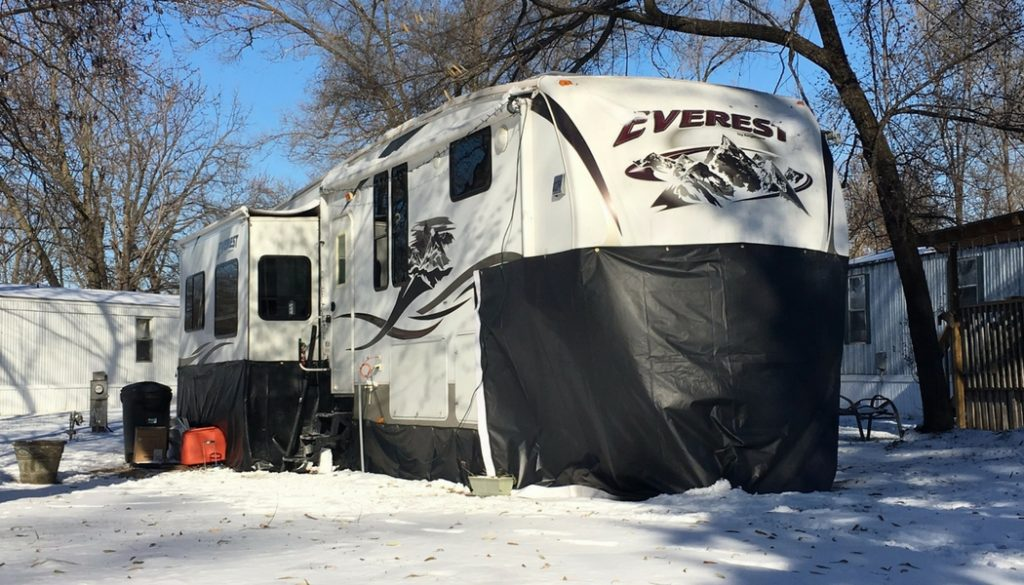 How We Prepare Our RV For Cold Weather Living