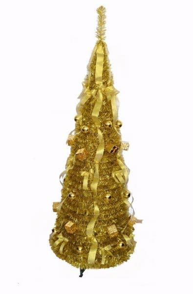 Gold pull up Christmas tree from Amazon