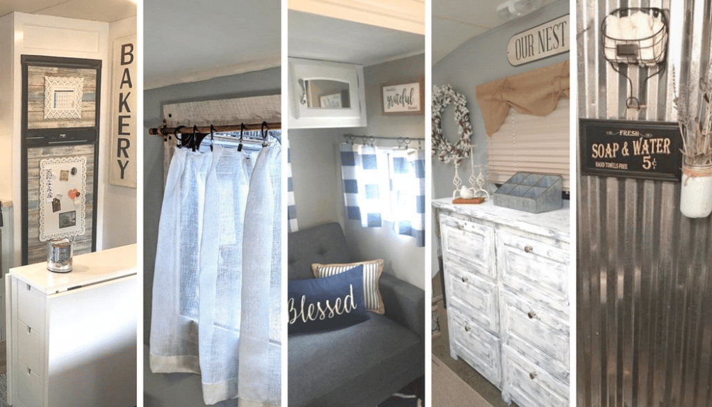 Farmhouse Style RV Makeovers to Inspire You