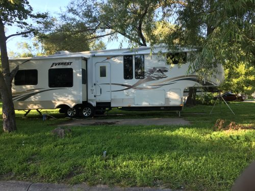 Our RV, a 2009 Keystone Everest fifth wheel