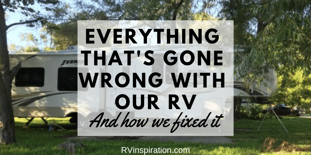Everything That's Gone Wrong With Our RV and How We Fixed Those Problems Twitter Image