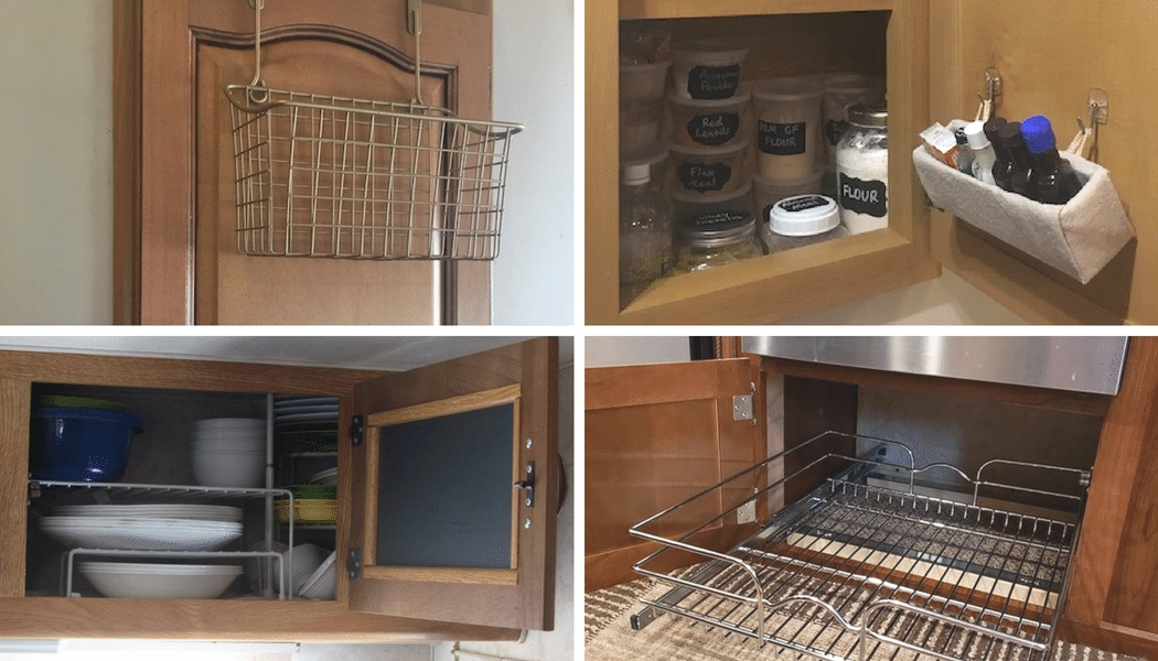 7 Organization Hacks For Rv Kitchen Cabinets Rv Inspiration