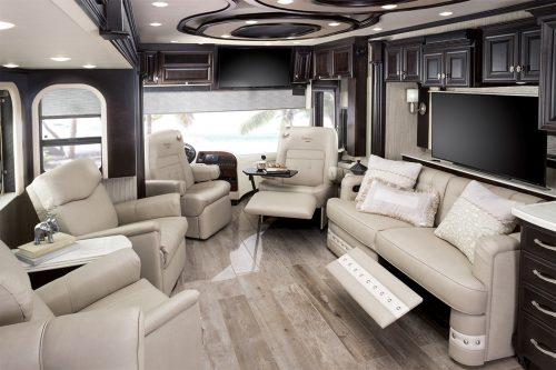 Remodeling an RV using neutral colors can help retain resale value