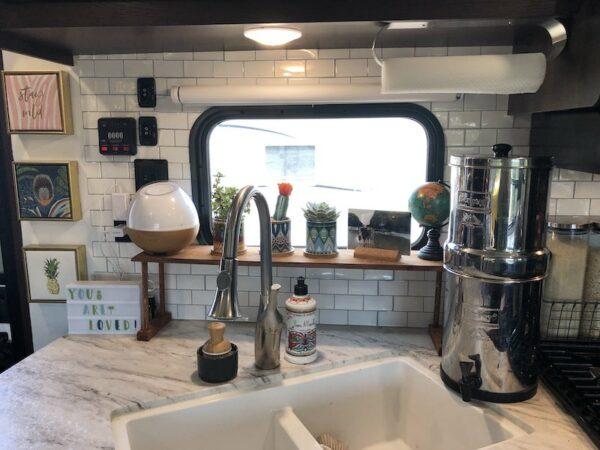 25 Storage Tips Ideas Hacks For Organizing Camper Kitchens Rv Inspiration