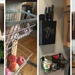 25 Storage Tips, Ideas, & Hacks for Organizing Camper Kitchens