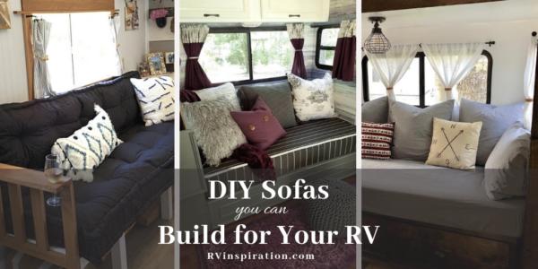 DIY Sofa Beds for RVs | RV Inspiration