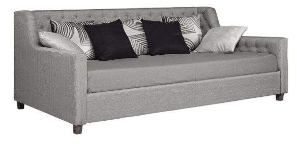 Linen daybed sleeper sofa