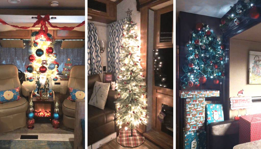 Yes, You Can Have a Christmas Tree in an RV!