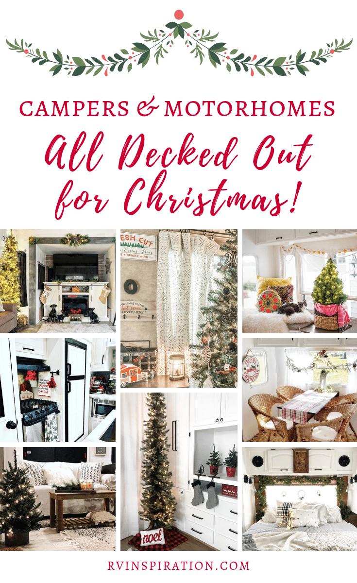 Get in the Christmas spirit as you look at these beautifully renovated and decorated RVs! | rvinspiration.com