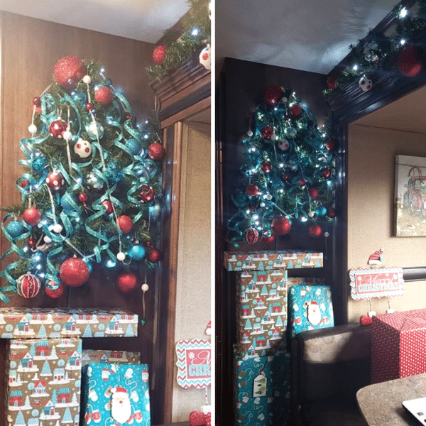 Wall Christmas Tree by Amanda Pollard