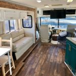 Family Reinvents Their Life & Travels the U.S. in Renovated Motorhome