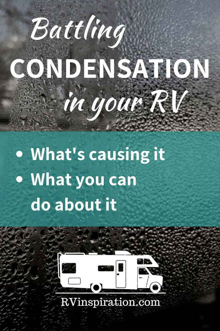How to prevent condensation and the risk of mold and mildew in your RV. #RVlife #FullTimeRV #RV #RVLiving