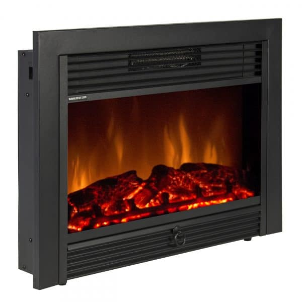 RV fireplace heater insert style