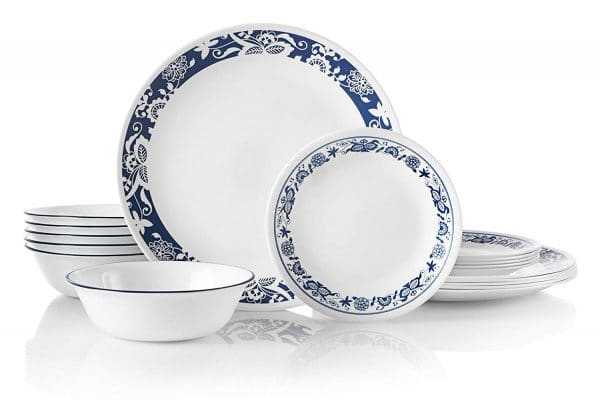 Corelle dinnerware for campers and motorhomes