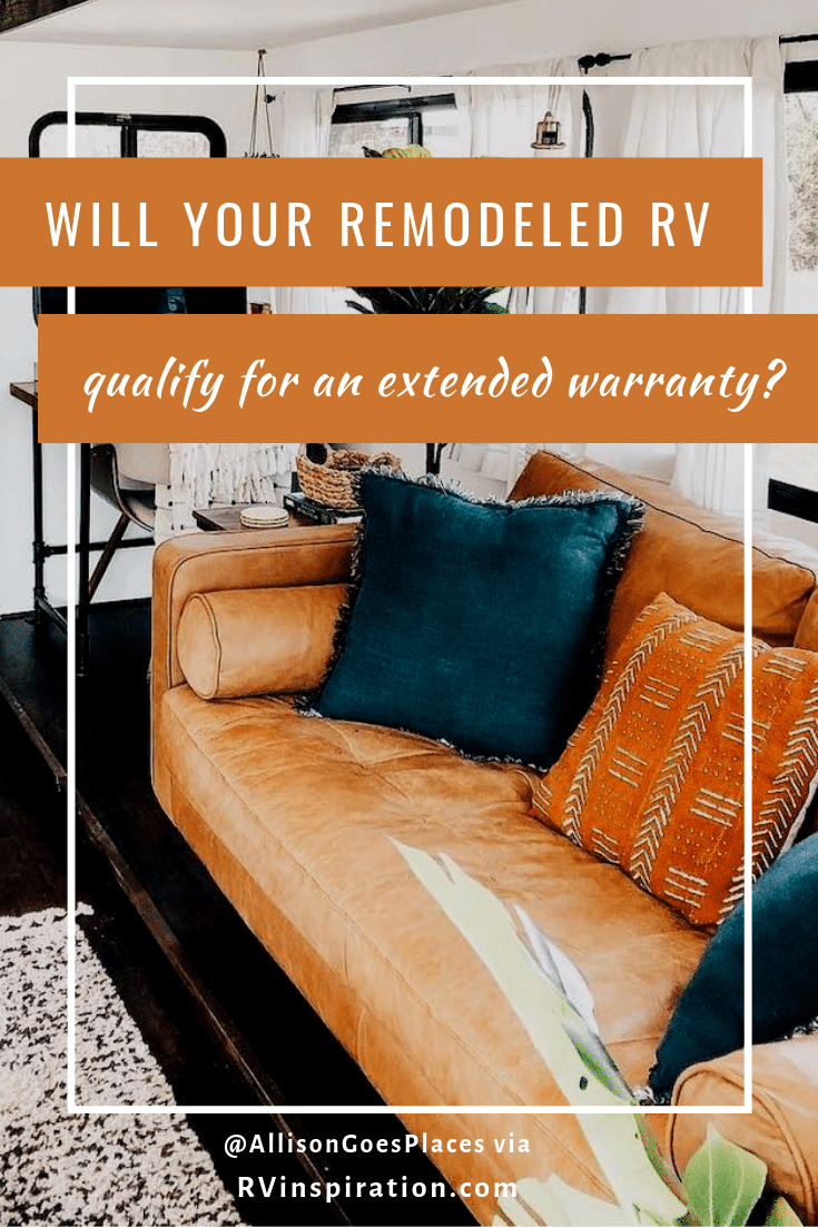 Changes you can make to your RV that won't affect your warranty coverage #RVrenovation #RVmakeover #RVremodel #RVdecor