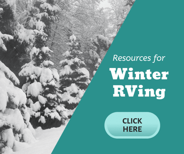 Resources for Winter RVing Facebook Image
