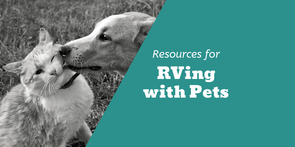 Resources for RVing with Pets Twitter Image