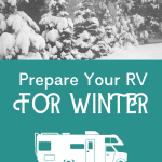 Resources for Winter RVing Pinterest Image