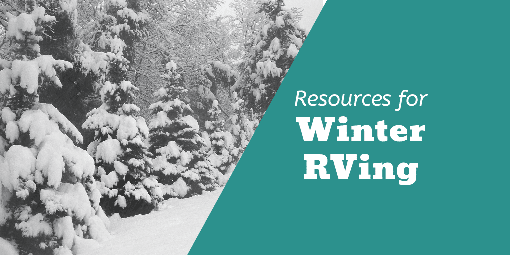 Resources for Winter RVing Twitter Image