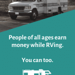 Resources for Earning Money While RVing Pinterest Image