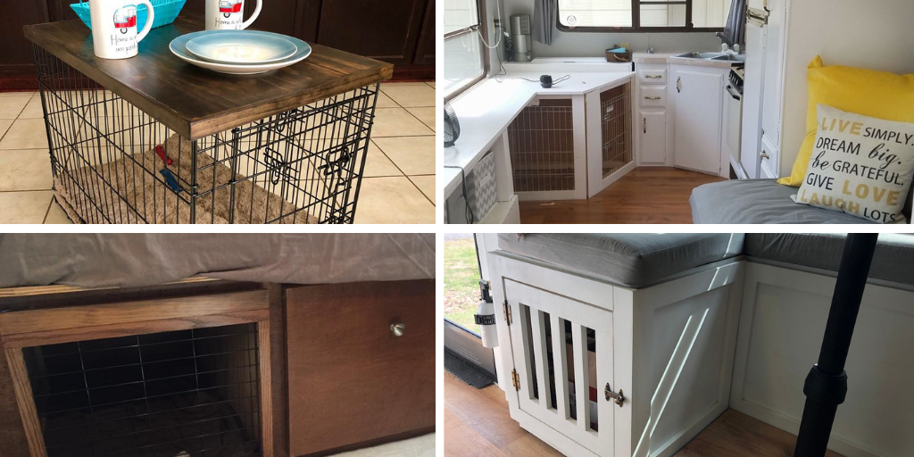 Dog Crate Or Kennel To An Rv