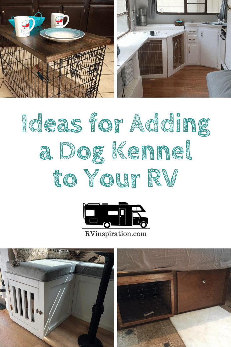 DIY Dog Kennels Pinterest Image