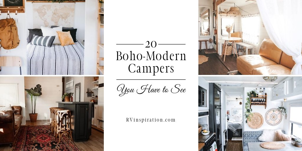 Bohemian style renovated RVs