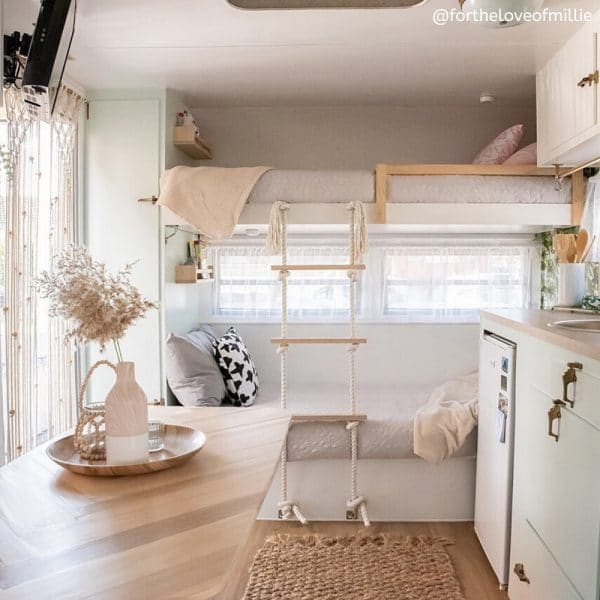 Renovated Vintage Caravan For the Love of Millie