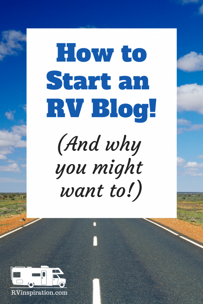 How to Start an RV Blog