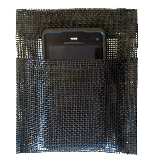 adhesive cell phone pocket