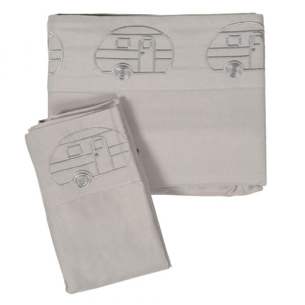 Embroidered Microfiber RV Sheets
