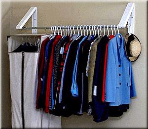Quik Closet from OrganizedObie.com