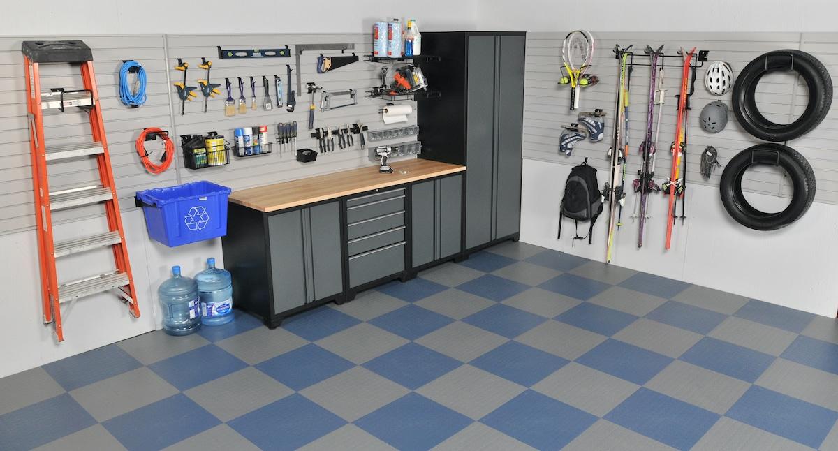 Slatwall Garage Organization System