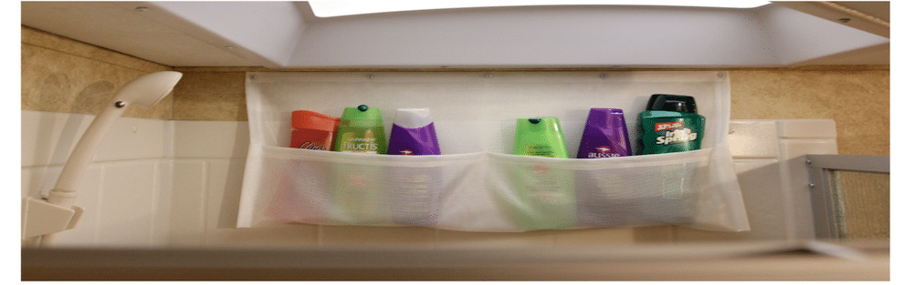RV Shower Organizer