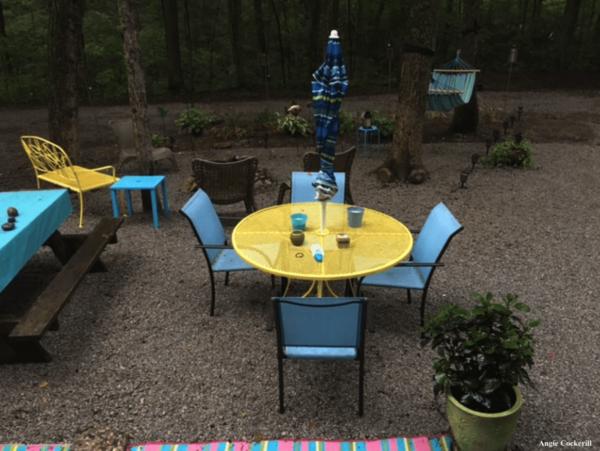 Campsite decorating ideas
