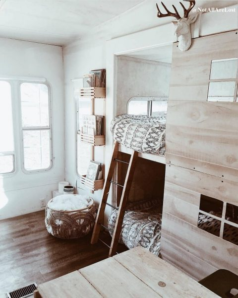 Adding bunk beds to RV slide