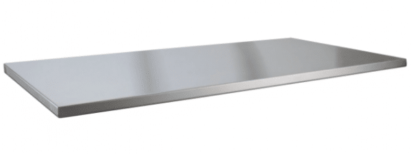 Stainless steel RV countertop