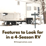 Features to Look for in a Four-Season RV